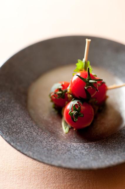 トマトと大葉F2.8
